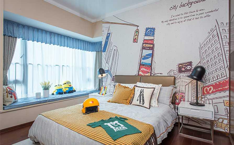 平-田园 卧室 风格风格-造价 4.68万