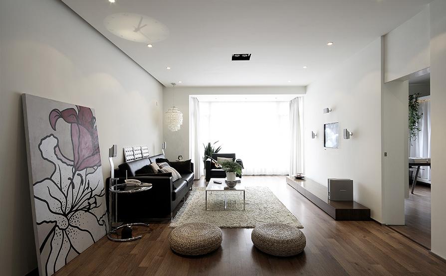 95平-银城东方国际-现代/简约风格装修-6.38万