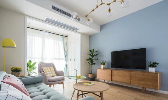 电视背景墙应该这样设计,绝不只是电视挂墙上